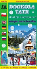 mapa tatry
