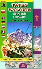 mapa tatr